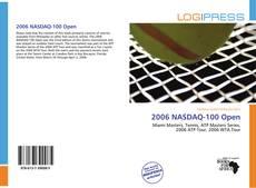Buchcover von 2006 NASDAQ-100 Open