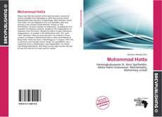 Portada del libro de Mohammad Hatta