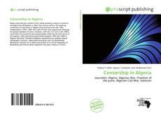 Borítókép a  Censorship in Algeria - hoz
