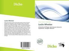 Bookcover of Leslie Whetter