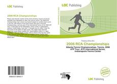 Bookcover of 2006 RCA Championships