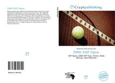 Bookcover of 2006 SAP Open