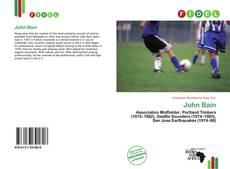 Buchcover von John Bain