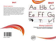 Bookcover of Alexey Lyapunov