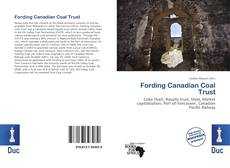 Bookcover of Fording Canadian Coal Trust