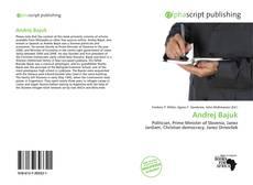 Bookcover of Andrej Bajuk