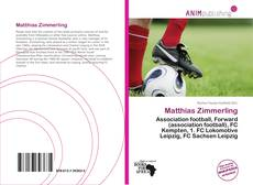 Buchcover von Matthias Zimmerling