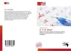 C. T. K. Chari kitap kapağı