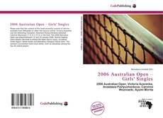 Обложка 2006 Australian Open – Girls' Singles
