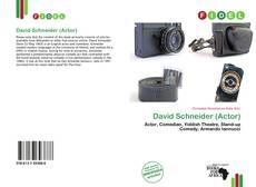 David Schneider (Actor)的封面