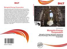 Copertina di Mongolia Energy Corporation