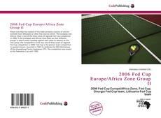 Copertina di 2006 Fed Cup Europe/Africa Zone Group II