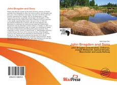 John Brogden and Sons kitap kapağı