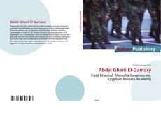 Bookcover of Abdel Ghani El-Gamasy