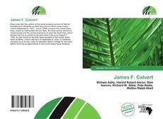 Buchcover von James F. Calvert