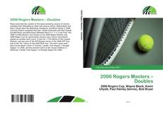 Buchcover von 2006 Rogers Masters – Doubles