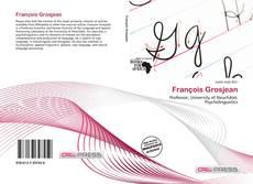 Обложка François Grosjean