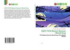 Portada del libro de 2007 FIFA Beach Soccer World Cup
