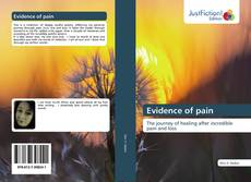 Bookcover of Evidence of pain