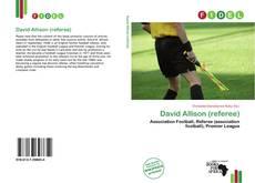Capa do livro de David Allison (referee)