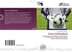 Portada del libro de Evans Chikwaikwai
