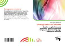 Demographics of Andorra kitap kapağı