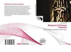 Обложка Disposal of Human Corpses