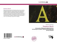 Capa do livro de Emmon Bach