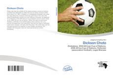 Capa do livro de Dickson Choto