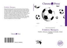 Capa do livro de Frédéric Marques
