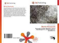 Capa do livro de Martin Rowlands