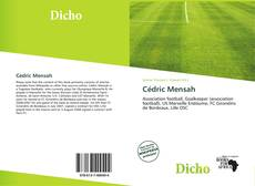 Bookcover of Cédric Mensah