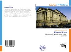 Bookcover of Bhawal Case