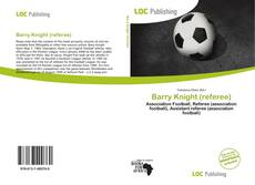 Portada del libro de Barry Knight (referee)