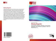 Bookcover of Matej Rapnik