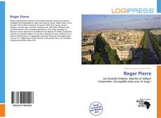 Bookcover of Roger Pierre