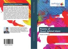 Обложка Poems of Quazi Johirul Islam