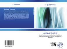 Bookcover of Antigua Carnival