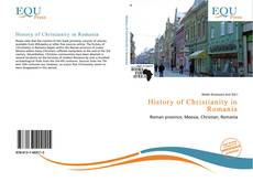 Capa do livro de History of Christianity in Romania