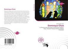 Capa do livro de Dominique Chaix