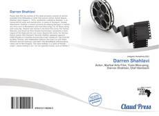Capa do livro de Darren Shahlavi