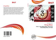 Bookcover of Greg Wise