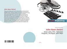 Borítókép a  John Axon (Actor) - hoz