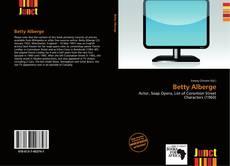 Betty Alberge的封面
