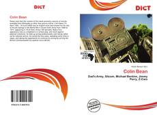 Bookcover of Colin Bean