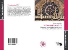 Buchcover von Conclave de 1721