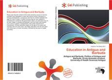 Bookcover of Education in Antigua and Barbuda
