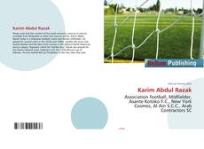 Bookcover of Karim Abdul Razak
