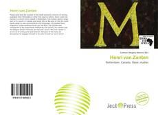 Bookcover of Henri van Zanten