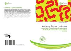 Portada del libro de Anthony Taylor (referee)